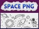 +SPACE |PACK PNG #OO1 by xPufflex