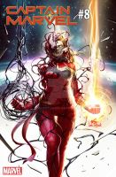 Captain Marvel #8 Absolute Carnage by inhyuklee