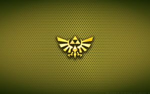 Wallpaper - The Legend Of Zelda 'Hyrule' Logo by Kalangozilla