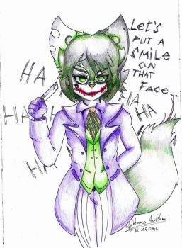 .. Let's put a smile on that face..  by LightnessAuditore
