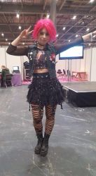 Aimee Cosplay London Expo by angie2d