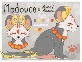 Modouce's reference by Mogueta
