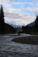 Hoh river by seancfinnigan