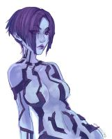 Halo - Cortana by spicyroll