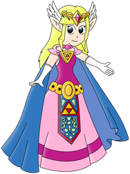 Princess Zelda by WarioSuperstar