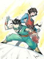 Super Sons by COLOR-REAPER
