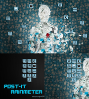 POST-IT for Rainmeter by musicopath