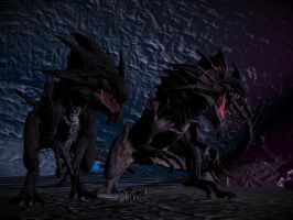 Reapers (From ARK SE) for XPS/XNA! by Jorn-K-Nightmane