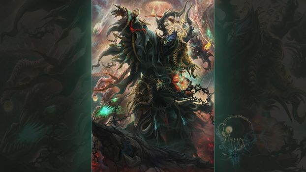 I bring you... the embrace of FEAR (smaller res) by IosifChezan