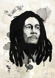Marley by jvmpainting