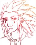 Axel sketch by invader-gir