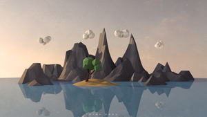 Low Poly Landscape by ToLgaORDU