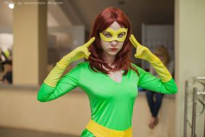 Marvel Girl cosplay, Asia Breeze 2014 by Shiera13