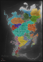 Aventuria (Political Map, 30 Hal) by Elytherion