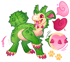 [Reference Commission] Cactus fumi by Fumi-LEX