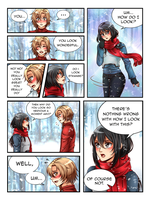 Commission: Kirita Chronicles Christmas Page 4 by manu-chann