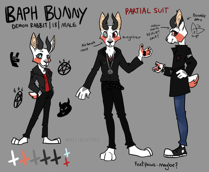 now thats what i call edgy - Partial Suit Design by Heliocathus