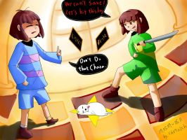undertale : blocked the save by ch0702ch
