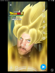 me as a super saiyan by gamemaster8910