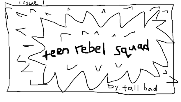 1 Teen Rebel Squad Cover by TheOriginaJetPhoenix