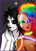 Death and Delirium by ksol-unlimited