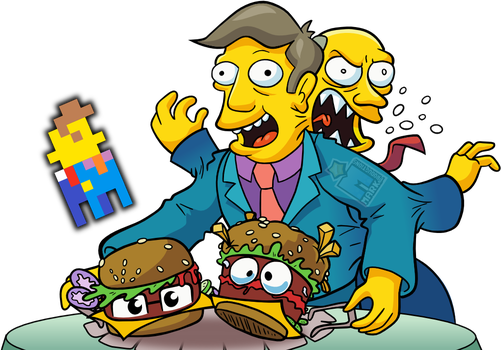 Steamed Hams Fusion [+VID!] by MarkProductions