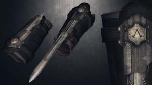 [MMD] AC4:Black Flag''Another''Hidden Blade for DL by AbyssLeo