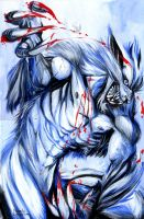 Silver Fang by MichelaDaSacco