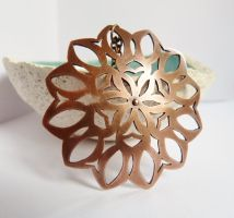 Copper mandala by Kreagora