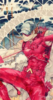 Roy Harper by fish-ghost