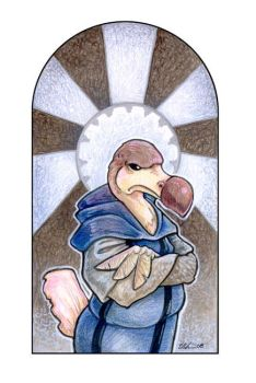 St. Dodus the Intolerant by ursulav