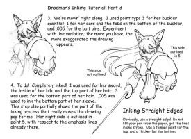 Inking Tutorial: Part Three by Droemar