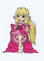Chii from Chobits Colored by Maiko-Girl