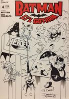 Lil Gotham sketch cover by dfridolfs