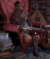 I Could Go For Some Light Reading (Dorian Pavus) by Doriardyn