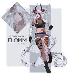 [ELOMIMI] Flower Raider [CLOSED] by rein-adopts