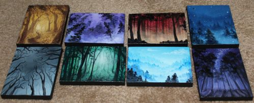 Mini Forests by crazycolleeny