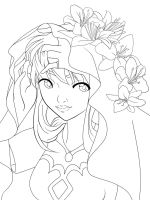 Who want to color Elenarda? by Cannira