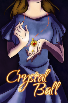 Crystal Ball Cover by wingedpaintbrush