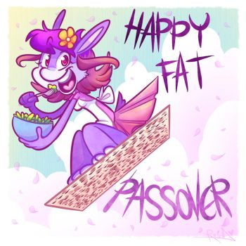Happy Passover by vaporotem