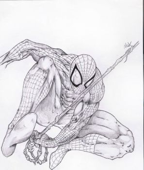 SpiderMan by TheXIII