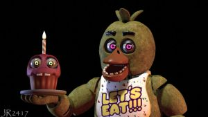 Chica the Chicken (fnaf sfm) by JR2417