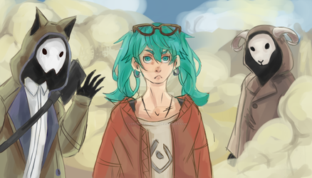 Miku Sand planet by LordSirCromwell