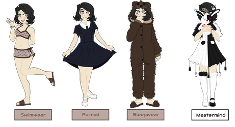 Emiko's Other Clothes || -HRD- by Hornets-N-Tribes