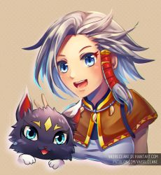 Brave Frontier - Tate and Tama by Vayreceane