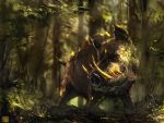 Elara : Boar Guardian by Sickbrush