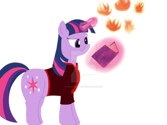 Firebender Twilight by CrimsonGlow