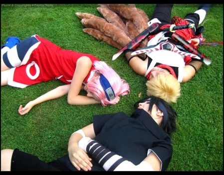 Naruto-Team 7++ Cosplay I ++ by Fay-lin