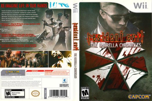 Resident Evil Umbrella Chronicles Boxart (Wii) by dakotaatokad