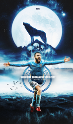 RYIAD MAHREZ TO MANCHESTER CITY WALLPAPER 2018 by 10mohamedmahmoud